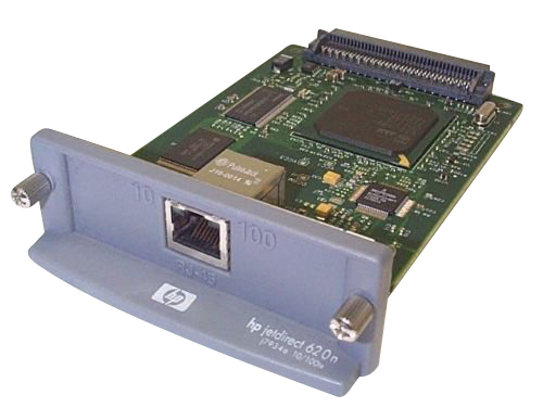 Принт-сервер HP JetDirect 620n Fast Ethernet [J7934G] J7934G