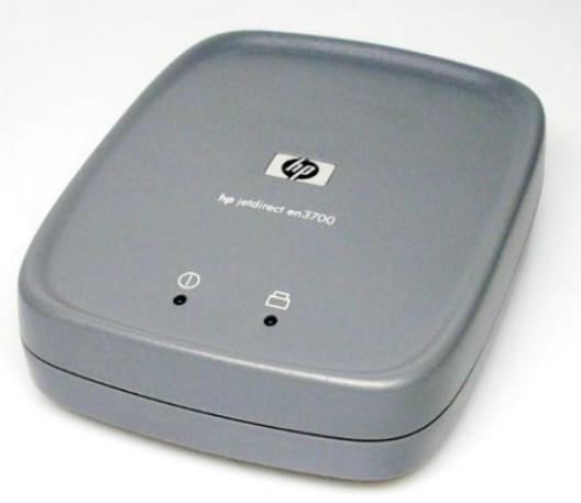 Принт-сервер HP JetDirect en3700 External Print Server USB LAN [J7942G] J7942G