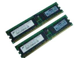 343057-B21 4GB(2x2GB) 1Rank DDR2 PC2-3200 400Mhz CL3 ECC