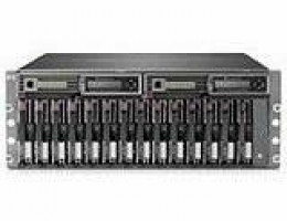 201724-B21 StorageWorks Modular Smart Array 500 (Generation 1) - Ultra3 14-slot array - Formerly called Smart Array Cluster Storage - Has 128MB Battery Backed Write Cache (BBWC) which can be upgraded to 256MB