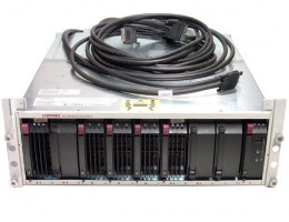 135820-B21 StorageWorks Enclosure Model 2200 system - Enclosure for one or two HSJ80 or HSG80 Array Controllers, one or two power supplies, and three fan assemblies
