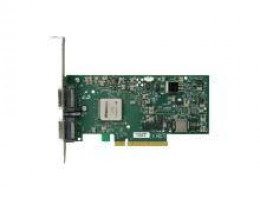 MNEH28-XTC ConnectX™ EN, Ethernet Network Interface Card, Dual Port 10GBASE-CX4, PCIe 2.0 x8 2.5GT/s, MemFree, Fiber Media Adapter Support, tall bracket, RoHS R5 Compliant