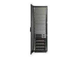 AD554A EVA4000 2C1D Array Includes one 4U Controller assembly with two HSV200 controllers, one M5314A 3U 14-bay disk drive enclosure, cables, and appropriate mounting hardware.