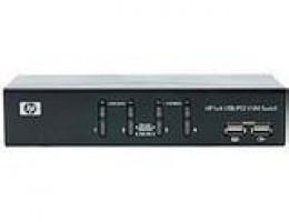 371302-B21 1x4 USB/PS2 KVM Rackmount Switch