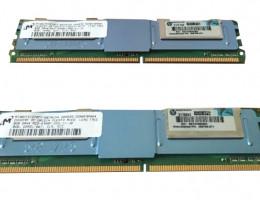 413015-B21 16GB(2x8Gb) 2Rx4 PC2-5300F DDR2 Memory