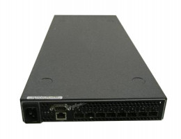 SB2B-08A 8-port, 2-Gbit FC Switch front to rear air flow