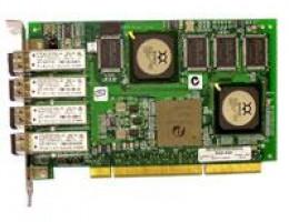 QLA2344F-CK 133 Mhz PCI-X 2Gb Quad port FC Adapter, Multimode Optic, full duplex, 64bit.