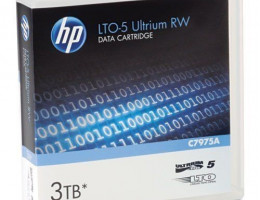 C7975A Ultrium LTO5 3TB bar code labeled Cartridge