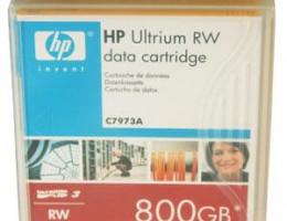 C7973A Ultrium LTO3 800GB bar code labeled Cartridge