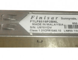 FTLF8519P2BNL 1000BASE SX SFP GBIC 2.125GB/S RoHS Short-Wavelength Transceiver