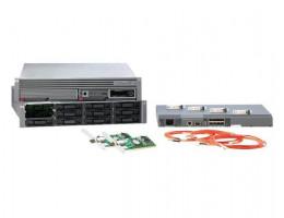 AE326A MSA1500 SAN SATA Starter Kit, Includes (1) MSA1500 (1) MSA20 SATA drive enclosure (1) 4/8 Base SAN Switch (4) 4Gb SFP transceivers (2) FCA2214 HBAs + cables.