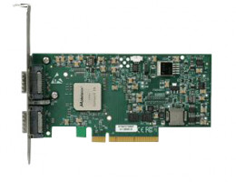 MNKH28-XTC ConnectX™ EN network interface card, dual-port, 10GBASE-SR w/ XFP modules, PCIe2.0 x8 2.5GT/s, mem-free, tall bracket, RoHS R5. Includes two (2) XFP modules. (Condor3 SR, 2-Port)