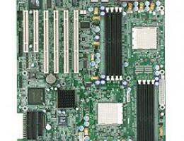 HDAMA-F AMD8131 Dual S940 8DualDDR400 4SATARAID U133 4PCI-X 2PCI SVGA 2xGbLAN E-ATX 1000Mhz