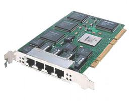 ANA-62044 DuraLan ANA-62044 Quad Port 4x100Мбит/сек 4xRJ45 PCI/PCI-X