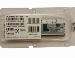 500666-B21 16GB (1x16GB) Quad Rank x4 PC3-8500 (DDR3-1066) Registered CAS-7 Memory Kit