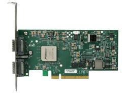MNEH29-XTC ConnectX™ EN, Ethernet Network Interface Card, Dual Port 10GBASE-CX4, with PCI Gen2, PCIe 2.0 x8 5GT/s, MemFree, tall bracket, RoHS R5 Compliant (Eagle EN Gen2)
