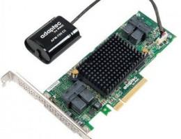 ASR-81605ZQ 16-port RAID, SAS 12 Гбит/с, SATA 6 Гбит/с, PCI Express 3.0 x8, RAID 0/1/1E/5/6/10/50/60