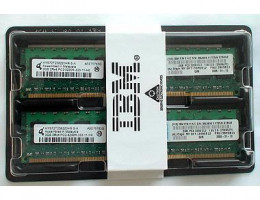 73P2866 2GB PC2-3200 (2x1GB) ECC DDR2 Chipkill SDRAM RDIMM Kit