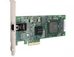 QLE4060C 1Gb iSCSI / Network to x4 PCI Express host bus adapter, SP copper.