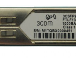 FTLF1318P2BCL-3C 1000BASE-LX SFP Transceiver
