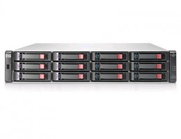 AW593A HP StorageWorks P2000 G3 SAS MSA Dual Controller LFF Array System