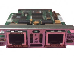 VWIC2-2MFT-T1/E1 2-Port 2nd Gen Multiflex Trunk Voice/WAN Int. Card - T1/E1
