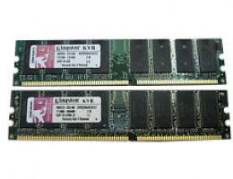 KVR400D2S8R3K2/1G 1GB 2x512MB 64x8 PC2-3200 DDR II Kit