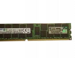 647883-B21 16GB (1X16GB) 2RX4 PC3L-10600R (DDR3-1333) REG LV option kit
