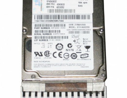 """43X0833 146GB 2.5"""" 10K  SAS"""