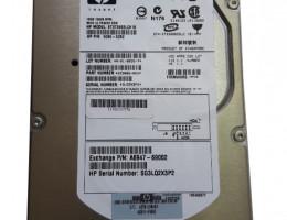 A6845-69002 18.2GB, 15K rpm Ultra320 SCSI RP24X0