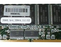 480093-001 128MB DIMM, ECC, buffered, 10ns