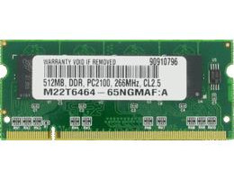 10K0032 512MB PC2100 DDR 266MHz PC-2100 Sodimm