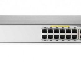 J9624A 2620-24-PPoE+ Switch (12x10/100, 12x10/100 PoE+, 2x10/100/1000, 2xSFP, managed L3 static, virtual stacking, PoE 128W, 19')