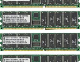 361039-B21 4GB ECC PC2700 DDR SDRAM DIMM Kit (2x2Gb)